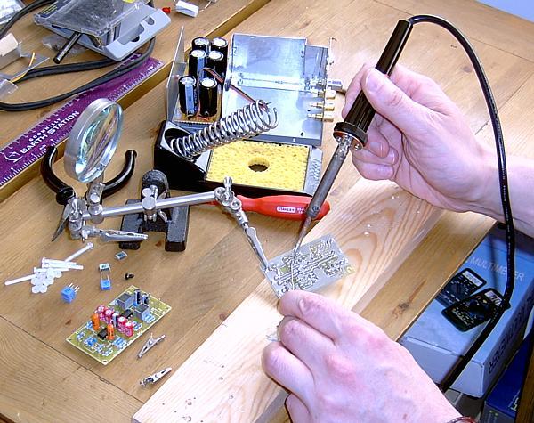 Ремонт электроники своими руками фото